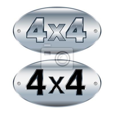 4x4 embelem