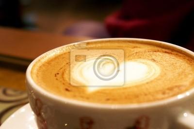 a coffe heart
