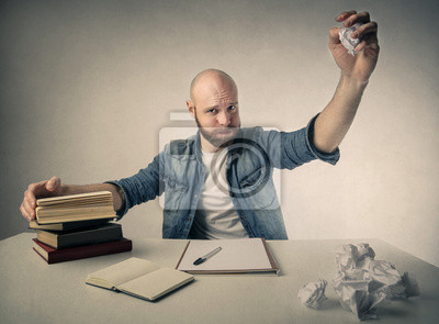 A creative writer