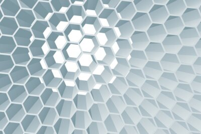 A hexagon honeycomb abstract geometric background texture design