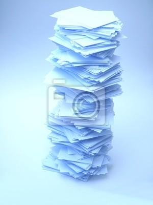 a lot of paper