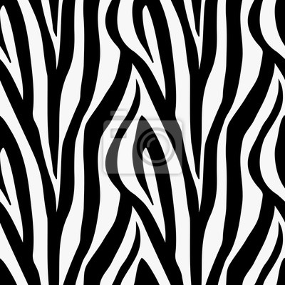 A zebra animal print seamless pattern tile background