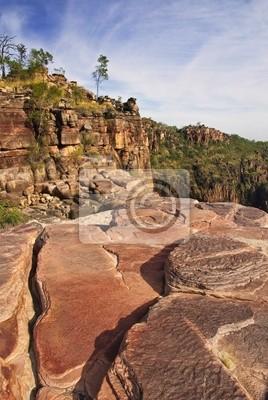 Above Twin falls, Kakadu National Park, Australia