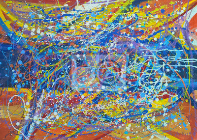 abstract art painting background