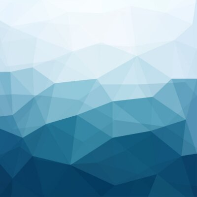 Wall mural abstract blue background