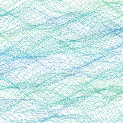 Wall mural Abstract blue lines background. Vector