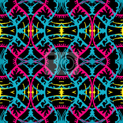 Abstract bright seamless color pattern for your design