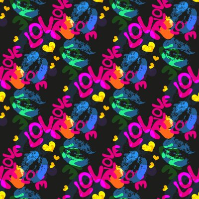 abstract color pattern in graffiti style. Quality illustration for your design
