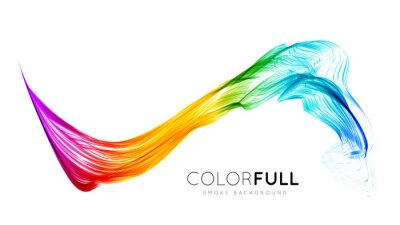 Wall mural Abstract colorful background.