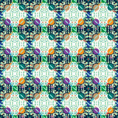 Abstract colorful seamless background pattern