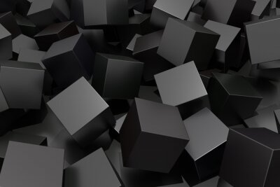 Wall mural Abstract cube