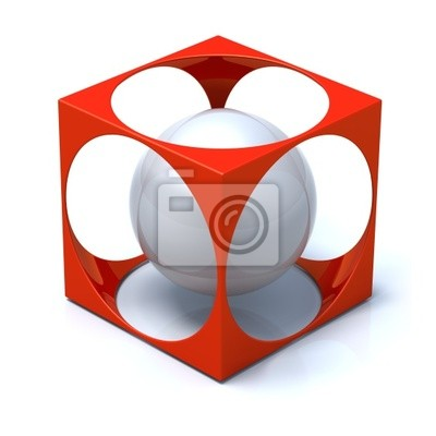 Abstract Cube and Sphere