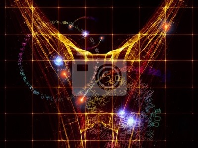 Abstract Digital World Background
