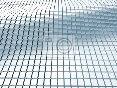 Abstract geometric three dimentional texture