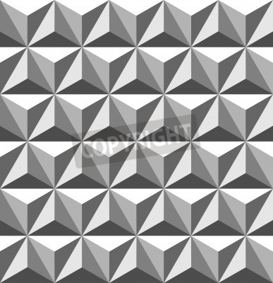 Wall mural abstract seamless pattern