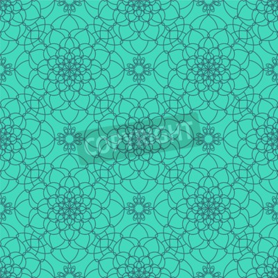 Wall mural Abstract Seamless Pattern. Vintage Ornament Pattern. Ethnic decorative elements for print and cloth, fabrics and canvas texture or any other kind of design.