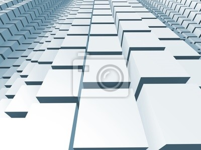 Abstract Three Dimensional Background