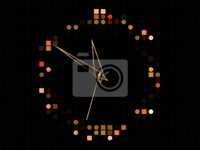 Wall mural Abstract Time  Background