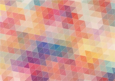 Wall mural Abstract Two-dimensional  colorful background