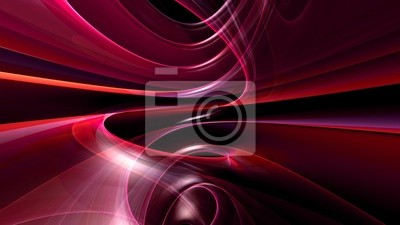 Wall mural abstract wallpaper 3d generated