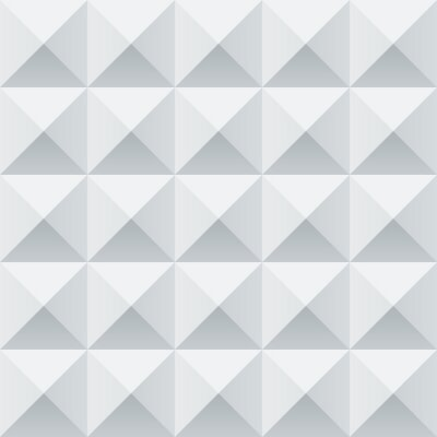 Wall mural Abstract white and grey geometric squares seamless pattern