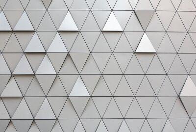 Wall mural Abstrakcyjne srebrne tło
