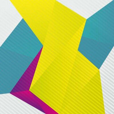 Wall mural Abstrakt origami