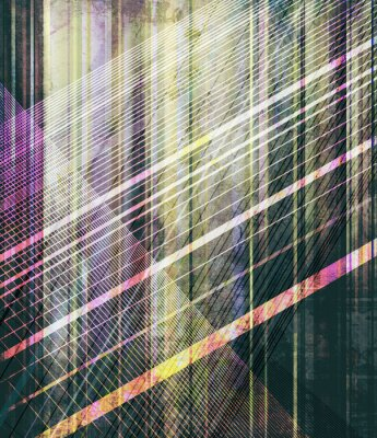 Wall mural abstrakt streifen textur alt