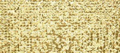 Wall mural abstrakte 3d polygon kunst im muster oder raster design, in verschiedenen farben erhältlich, scharf und hochauflösend