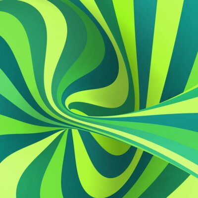 Wall mural Absttact striped background. Vector illustration.
