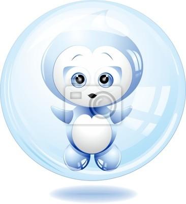 Acqua Bolla Cartoon-Water Bubble Cartoon-Vector