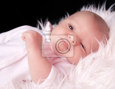 Wall mural adorable bébé