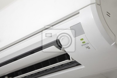 Wall mural Air conditioner