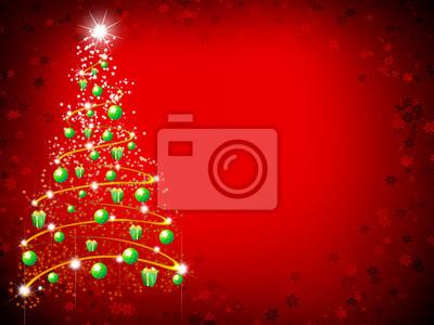 Albero Nat Sfondo-Christmas Background-Arrière Plan Noël