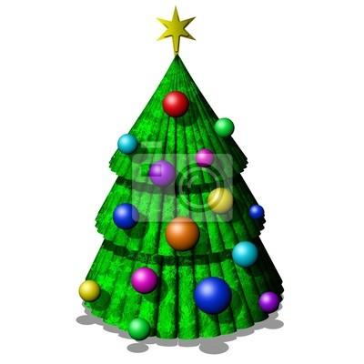 Albero Natale-Christmas Tree-Sapin Noël-3D-2