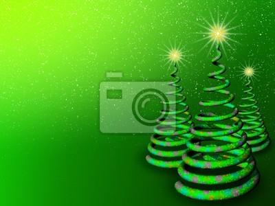 Albero Natale Sfondo-Chistmas Tree Background-Sapin Noël-3D-3