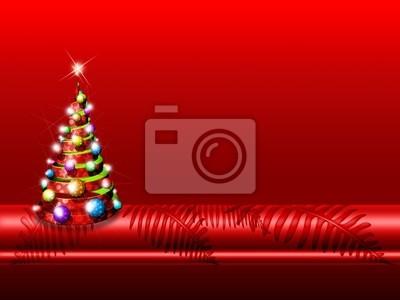 Albero Natale Sfondo-Christmas Background-Arrière Plan Noël 2