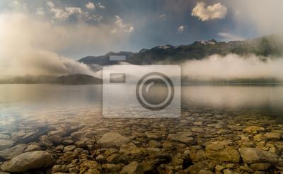 Alpejskie jezioro
