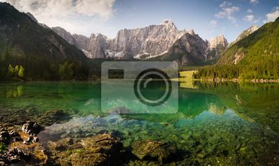 Wall mural alpine mirror