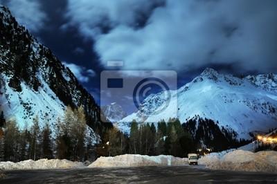 Wall mural Alps