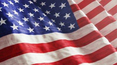 Wall mural American Flag