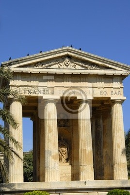 ancient greek architecture in the island of malta