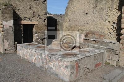 Ancient Herculaneum - kitchen