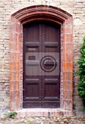 Ancient Wooden Gate - Ancient Old Wood Door