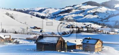 appenzell en hiver