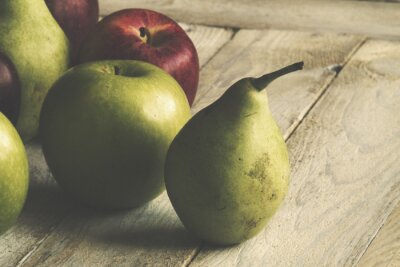 Wall mural Apple and Pear