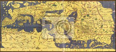 Arabic old map