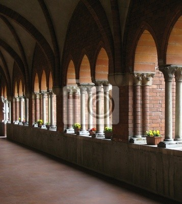 Wall mural arches