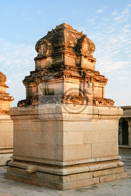 Architecture in hampi india