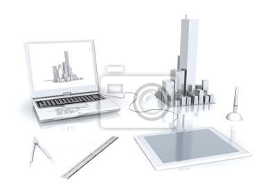 architektur am computer